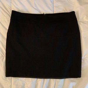 INC Black Mini Skirt